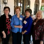 3-23-18 Wakulla Lodge Clair McLeod Muller, Susanne Bradford Mahaffey, Brenda Allman Abstein and Kay Price Harris
