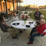 3-24-18 Edison Classmates on patio
